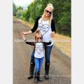 2017 Großhandel Kleidung Sets Familie Passenden Outfits Mutter Tochter kleidung gesetzt