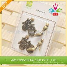 High-Heel-Vintage-Stil Yiwu Metall-Handwerk für Kinder