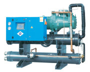 Винтовой тип Water-cooled промышленный охладитель