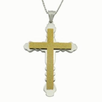 Pingente de aço inoxidável pingente colar de jóias de moda colar