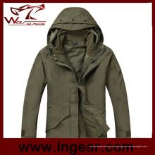 Parka impermeável casaco exterior G8 tático casaco capuz