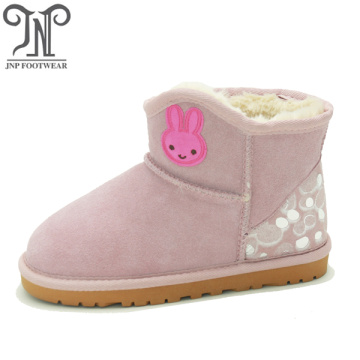 Little Girls Fashion Furry Ankle Boots