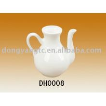 pote de vinagre de cerâmica