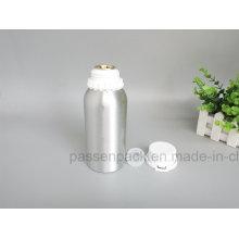 Aluminium-Olivenöl-Flasche mit Plastik-Tamper-Proof-Cap (PPC-AEOB-004)