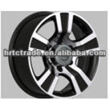 16/17 inch 5 spoke black sport wheels for car