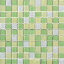 Green Blend Crystal Glass Mosaic