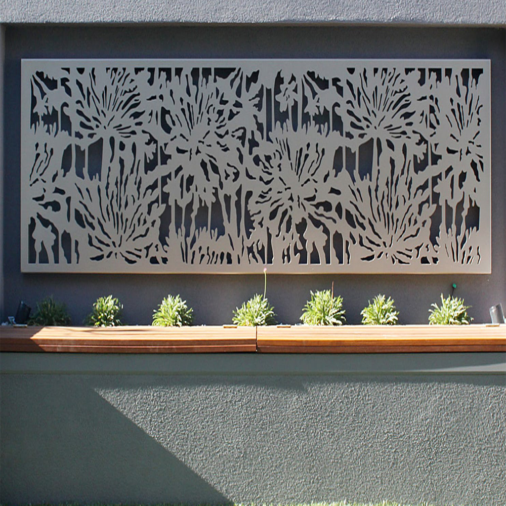 Laser Cut Metal Wall Art Decor