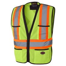 special design reflective vest with back pocket