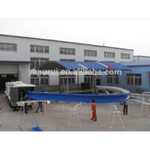 Máquina de construção de forma múltipla / Máquina de formação de rolo fria de largura de telhado de UBM grande