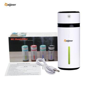 240ml Car Usb Mini Water Essential Oil Diffuser