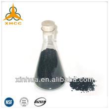 Carbono ativado cilíndrico tipo ZH15 para recuperação de solvente