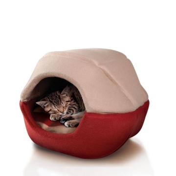 Factory directly sale for Offer Pet Beds,Soft Pet Bed,Round Pet Bed From China Manufacturer Pet Bed 2 in 1 Domed supply to Poland Manufacturer