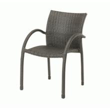 Patio al aire libre Set de jardín mimbre muebles silla de la rota de pila