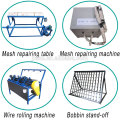 Automatic welded roll mesh small business manufacturing machines