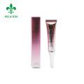 15ml soft eye cream cosmetic plastic tube acrylic cap with paper box