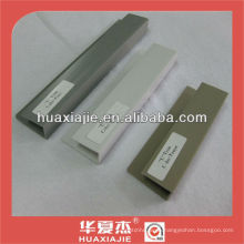 slat wall trim, pvc trim, plastic slatwall trim, plastic trim,slatwall joint
