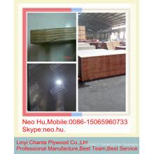 Linyi de la meilleure qualité en béton contre le contreplaqué