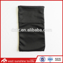 Material de microfibra doble capa personalizado para bolsa de gafas