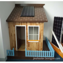 PV Solar Panels for Roof Power System with Black Alunimum Frame