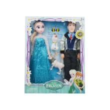 Plástico crianças boneca congelada (h10232027)