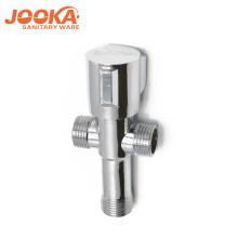 популярная конструкция двухсторонняя латунь водопроводный кран угол клапан