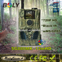 Bolyguard SG880MK-12mHD wireless MMS GPRS GSM hunting trail camera with 12MP image, 720P HD video, Two way commnucations