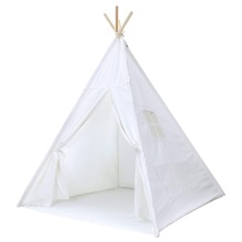Small Boy Portable Kids Cotton Canvas Teepee Tent