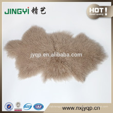 2018 China Suppliers upholstery Tibetan Mongolian Lamb Fur Sheep Mat