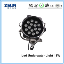 IP68 18W RGB LED Underwater Light for Swimming Pool