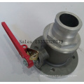 Nonreturn One Direction One Way Ball Valve Male