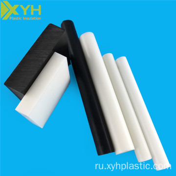White and Black Pom Acetal Copolymer Rod