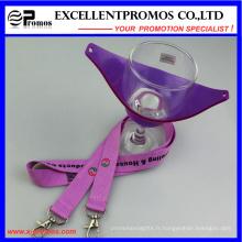 Custom Logo Porte-verre en verre Lanyard Promos (EP-Y581406)