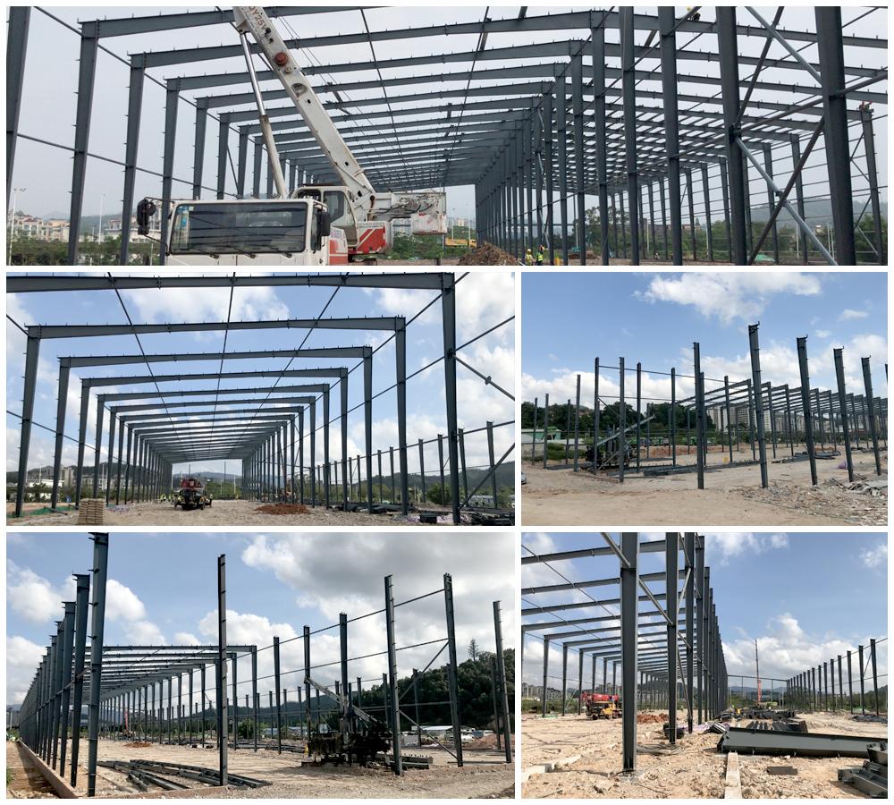 Steel Structure Road Bridge