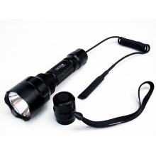 Ultra C8 T6 CREE LED 1300 Lm Flashlight W/Pressure Switch