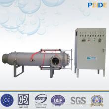 Linha de enchimento de água pura Desinfecção de água Esterilizador UV