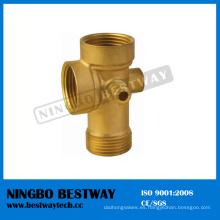 Precio de venta caliente de la manera de cinco vías de cobre amarillo (BW-652)
