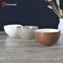 FDA approve food grade ceramic food bowl