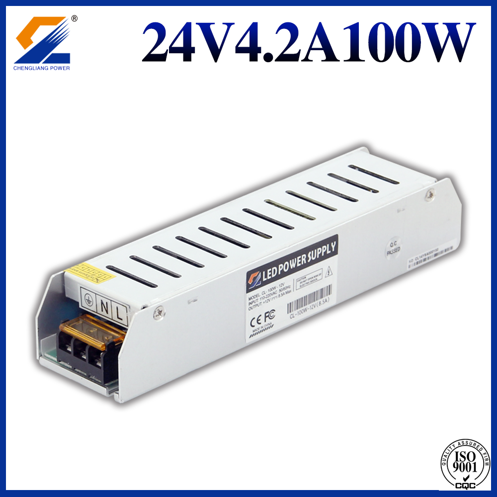 24V4.2A100W Slim Power Supply
