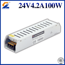 24V 100W Slim AC DC Power Supply