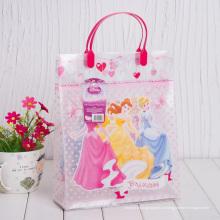 Подгонянный напечатанный мешок подарка пластмассы (мешок PVC)