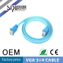 SIPU high quality 3+4 vga flat cable best cable vga prices wholesale computer audio cable
