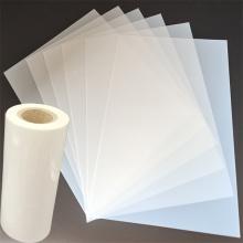 Прозрачный молочно-белый лист майларовой пленки для трафарета