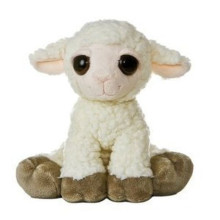 EN71/ASTM standard soft plush stuffed sheep toy