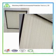 Fiberglass Mini Pleated h13 hepa filter