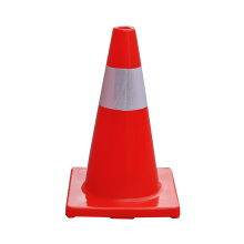 45cm PVC reflective construction traffic cones