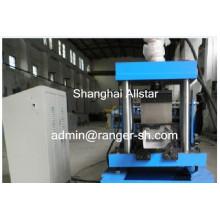 Alta calidad y buen precio ronda perfiles acero lamina bajante/bajante de pluviales/canal/tubo forma la máquina
