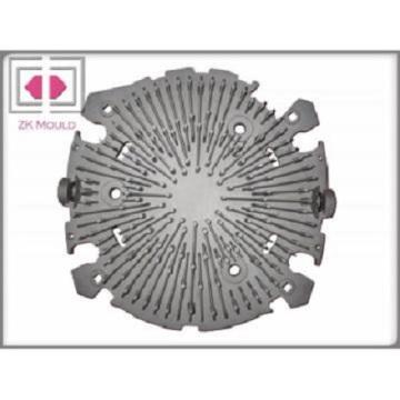 En aluminium dissipateur de chaleur légère de moulage mécanique sous pression