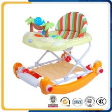 China Supply Adjustable Baby Walker with Music Light