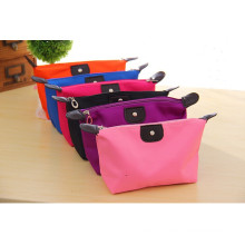 Boîte cosmétique colorée pliable d'Oxford de sac de maquillage de stockage de nylon