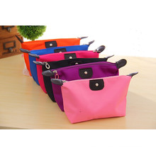 Nylon Storage Makeup Bag Oxford Foldable Colorful Cosmetic Box